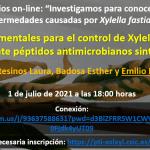Control de Xylella fastidiosa mediante péptidos