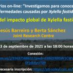 Indicadores del impacto global de Xylella fastidiosa en EU